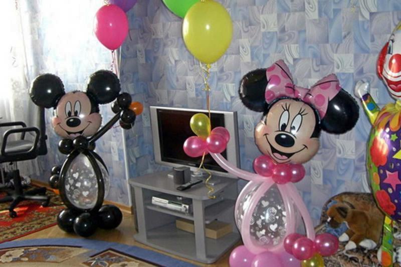 Украшение стола на день рождения ребенка своими руками фото